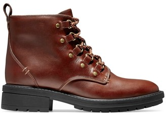 Cole Haan Brianna Leather Hiking Boots