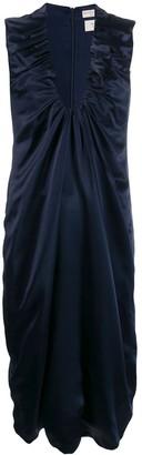 Bottega Veneta Gathered Detail Satin Dress