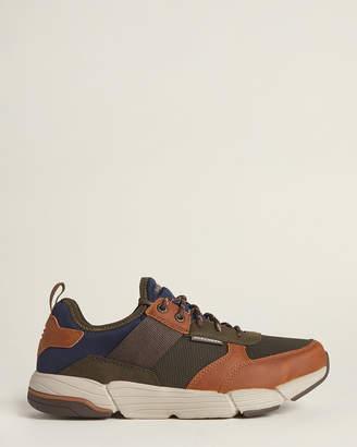 Skechers Brown Relaxed Fit Metco-Parken Low-Top Sneakers