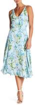 Adelyn Rae Printed Midi Dress