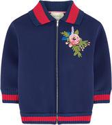 Gucci Full zip neoprene sweatshirt