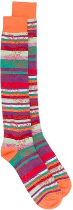Etro Striped Jacquard Socks