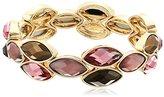 "Anne Klein Sandy Shores"" Gold-Tone Multi-Stretch Bracelet"