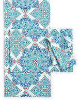 Bardwil Messina Medallion Blue Collection Napkin