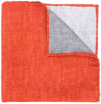 Brunello Cucinelli Geometric Pattern Pocket-Square