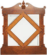Rejuvenation Classical Revival Mirror w/ Quarter-sawn Oak Frame