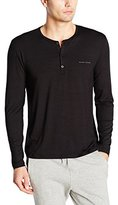 HUGO BOSS Men's Sea Cell Jersey Henley