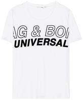 Rag & Bone Printed Cotton T-shirt