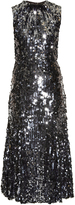 Dolce & Gabbana Sequin-embellished flared midi dress