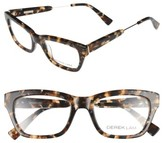 Derek Lam Women's 50Mm Optical Glasses - Black Marble
