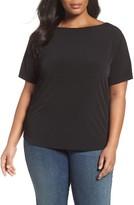 MICHAEL Michael Kors Plus Size Women's Chain Accent Tee