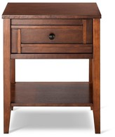 Nobrand No Brand Luther Side Table - Brown