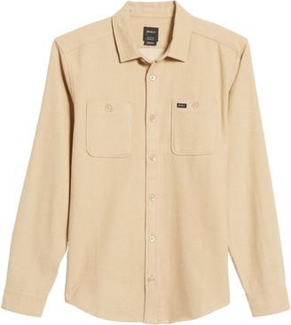 RVCA Harvest Regular Fit Flannel Button-Up Shirt