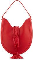Altuzarra Ghianda Small Leather Hobo Bag, Red
