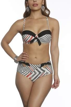 Sun & Sea Trading Company Retro High-Waist Bikini