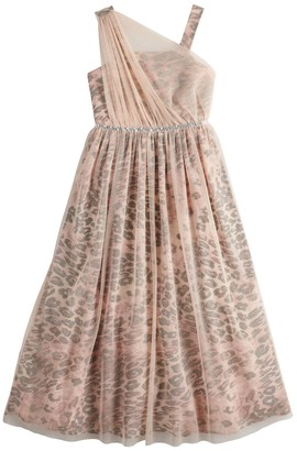 My Michelle Girls 7-16 Asymmetrical Maxi Dress