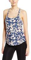 New Look Women's Lena Floral Sleeveless Sports Top