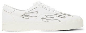 Amiri White Flame Sneakers