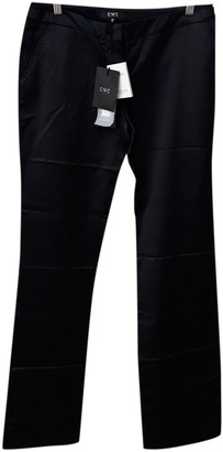 CNC Costume National Black Trousers for Women
