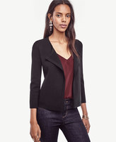 Ann Taylor Asymmetrical Sweater Jacket
