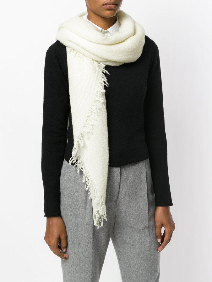 Faliero Sarti frayed scarf