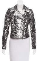Diane von Furstenberg Joneva Leather Jacket w/ Tags
