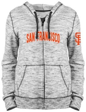 5th & Ocean Women's San Francisco Giants Space Dye Hoodie