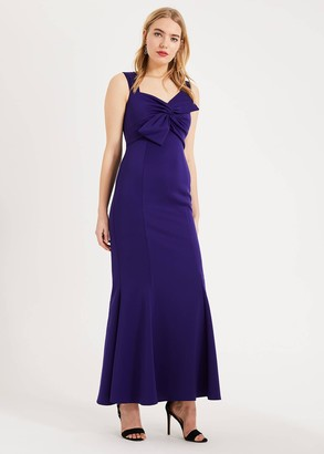Phase Eight Gillian Bow Maxi Dress