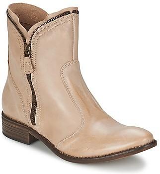 Dixie NT4050 women's Mid Boots in Beige