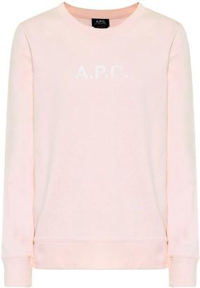 A.P.C. Stamp cotton-jersey sweatshirt