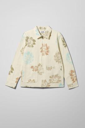 Weekday Camp Creaky Flower Jacket - White