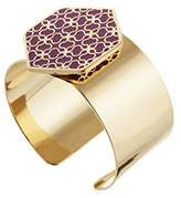 Skalli la01vd Purple The – Resin Women Cuff Bracelet – Brass