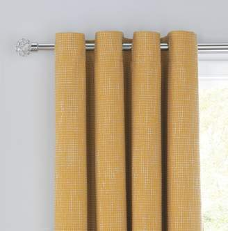 Argos Home Weave Blackout Lined Eyelet Curtains