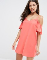 Lipsy Cold Shoulder Mini Dress