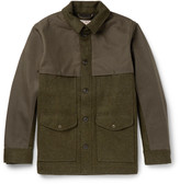 Filson Panelled Virgin Wool and Cotton-Canvas Field Jacket