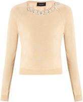 Simone Rocha Embellished wool and silk-blend sweater