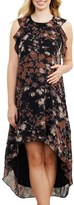 Maternal America Women's Maternal American Ruffle Maternity Dress