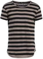 Tigha PAT Print Tshirt mud/black