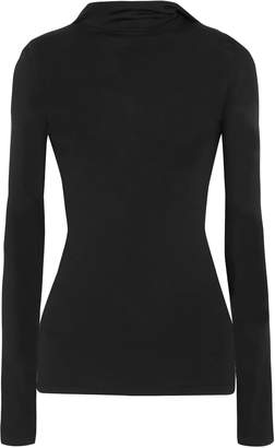Dion Lee Cutout Stretch-knit Hooded Sweater