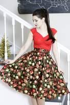 Retrolicious Holiday Ornaments Skirt