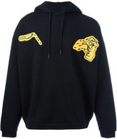 Off-White graphic hoodie - men - Cotton - L