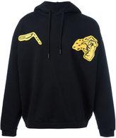 Off-White graphic hoodie - men - Cotton - S