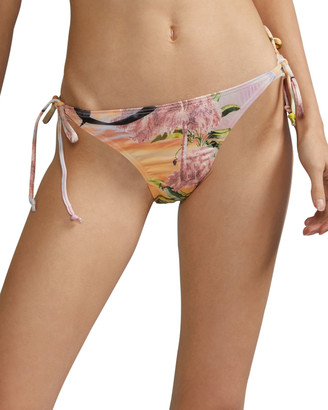 Cynthia Rowley Seascape String Bikini Bottom