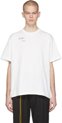 Song For The Mute White AM/PM Standard T-Shirt