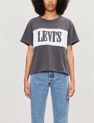 Levi's Cameron logo-print cotton-jersey T-shirt