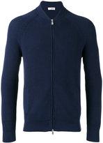 Brunello Cucinelli ribbed knit zipped cardigan - men - Cotton - 48