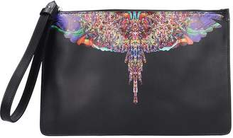 Marcelo Burlon County of Milan Clutch In Black Leather