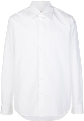 Marni Buttoned Long-Sleeved Shirt