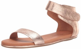 Gentle Souls by Kenneth Cole Women's Break Even Flat Sandal Ankle Strap