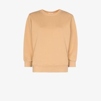 AGOLDE Thora cropped sleeve sweatshirt